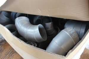 Large Lot of Aluminum Elbow Fittings (Various Sizes)