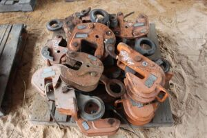 Large Lot of Renfroe Plate Clamps (Various Sizes)