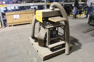 North American Wood Planer W/ Exhaust Suction Blower - Electric 3HP Motor