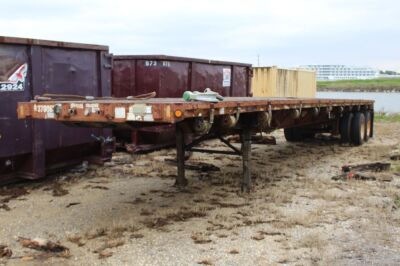 1998 FONTAINE FLATBED TRAILER