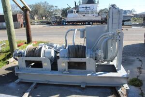 Maximum Hydraulic Performance Double Drum Winch