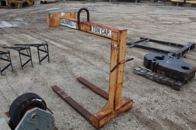 Caldwell Strong Back 3 Ton Fork Attachment