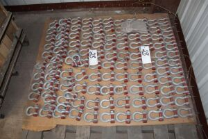 Pallet of Crosby 5/8 Inch Shackles