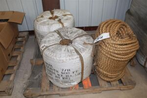 Lot of (4) Spools of Rope