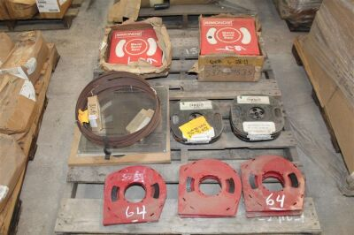 Lot of Misc Band Saw Blades