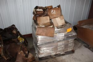 Pallet of Misc Aluminum Pad Welding Fittings & Stud Welding Fittings