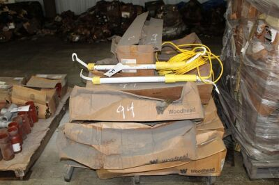 Pallet of Woodhead Hand Lamps